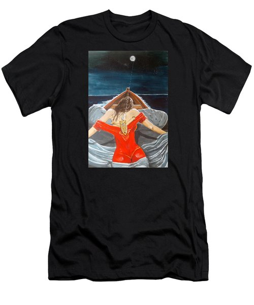 The Whims Of The Moon  Men's T-Shirt (Slim Fit) by Lazaro Hurtado