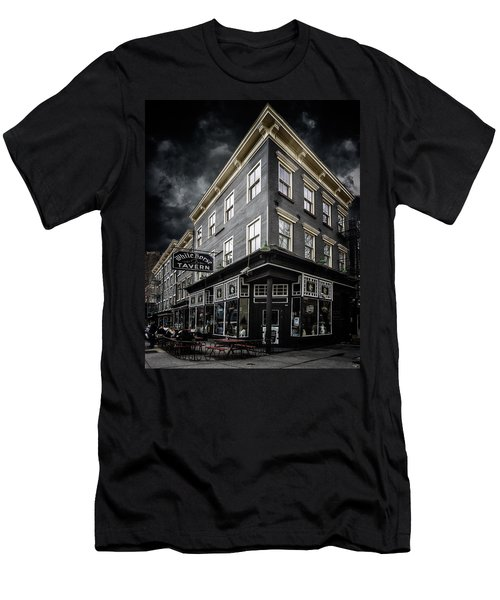 The White Horse Tavern Men's T-Shirt (Athletic Fit)