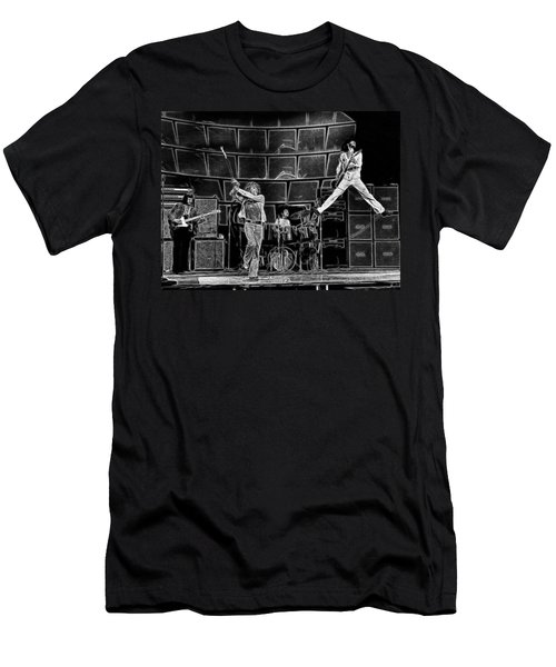The Who - A Pencil Study - Designed By Doc Braham Men's T-Shirt (Athletic Fit)