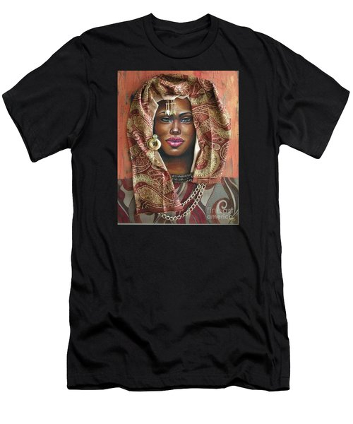 The Whole Story Behind Her Hazel Eyes Men's T-Shirt (Athletic Fit)