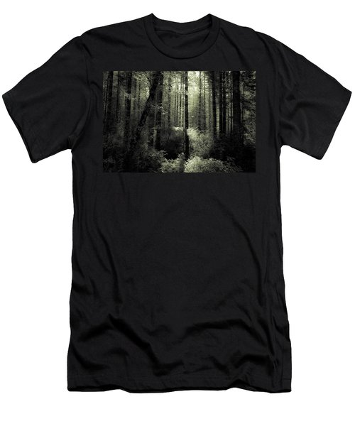 The Woods Men's T-Shirt (Slim Fit) by Katie Wing Vigil