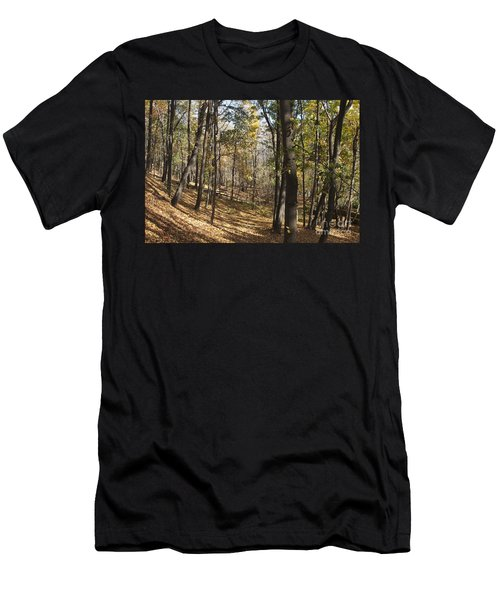 Men's T-Shirt (Slim Fit) featuring the photograph The Woods by William Norton