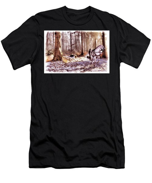The Woodsman Men's T-Shirt (Athletic Fit)