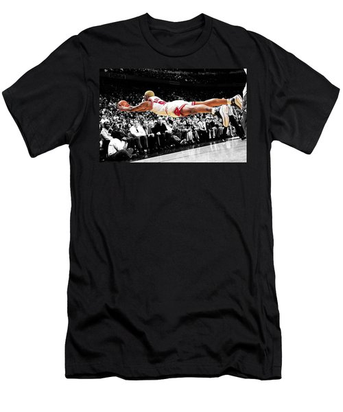 The Worm Dennis Rodman Men's T-Shirt (Athletic Fit)