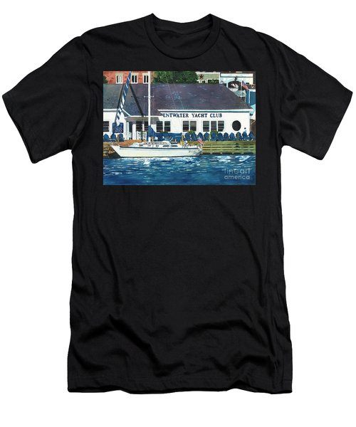 The Yacht Club Men's T-Shirt (Athletic Fit)