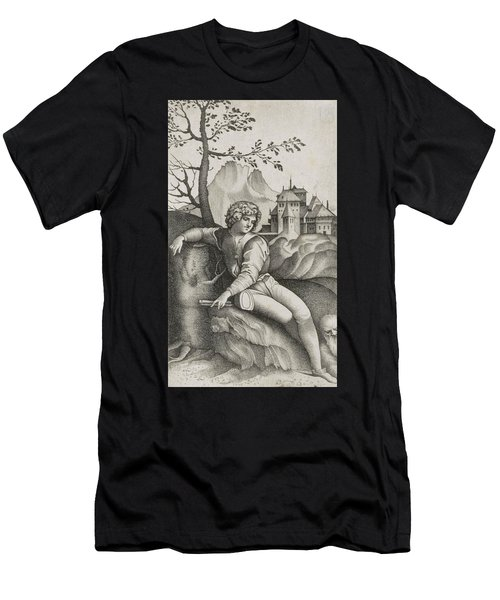 The Young Shepherd Men's T-Shirt (Athletic Fit)