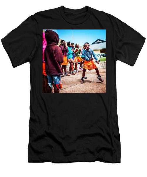 There Is Always Time To Dance Men's T-Shirt (Athletic Fit)