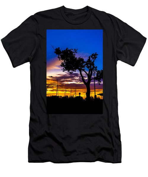 There Is Something Magical About The Sky Men's T-Shirt (Slim Fit) by Tgchan