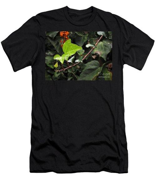 Men's T-Shirt (Slim Fit) featuring the photograph Thirsty by Ellen Cotton