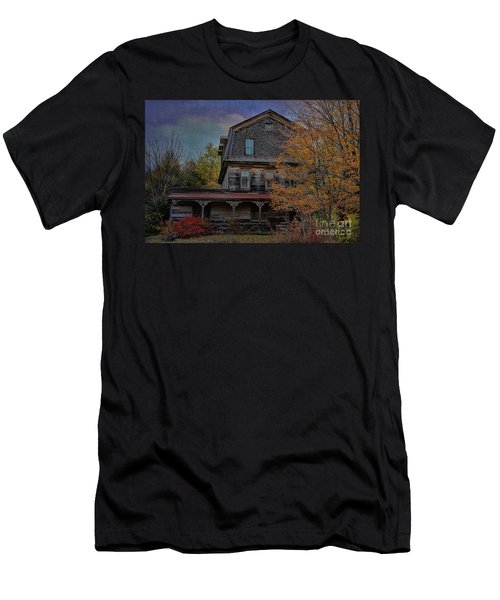 This Olde House In New York Men's T-Shirt (Athletic Fit)