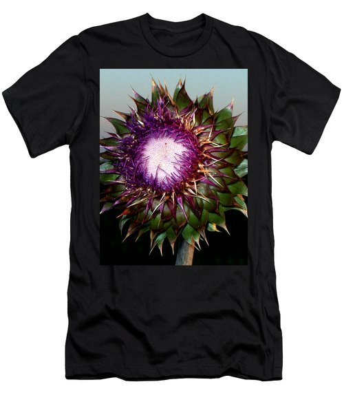 Thistle Night Men's T-Shirt (Slim Fit)