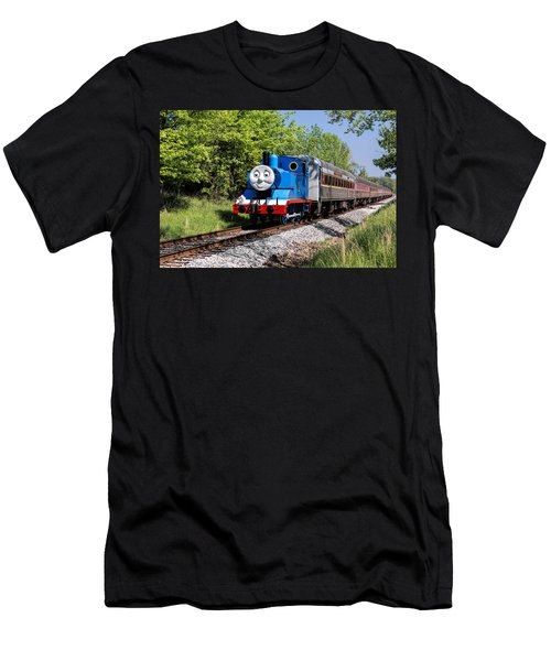 Thomas Visits The Cvnp Men's T-Shirt (Athletic Fit)