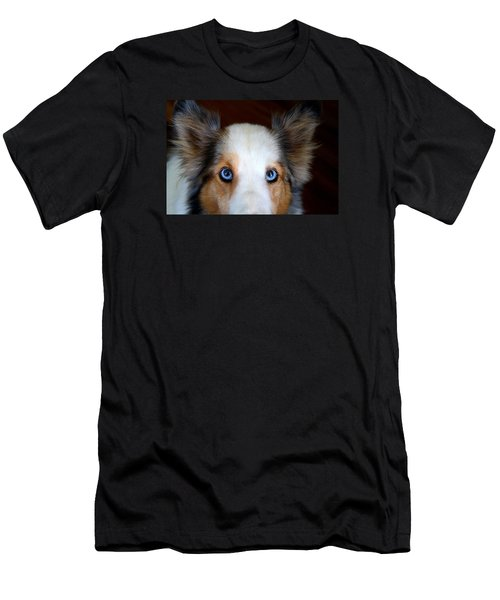Those Eyes Men's T-Shirt (Slim Fit) by Kathryn Meyer