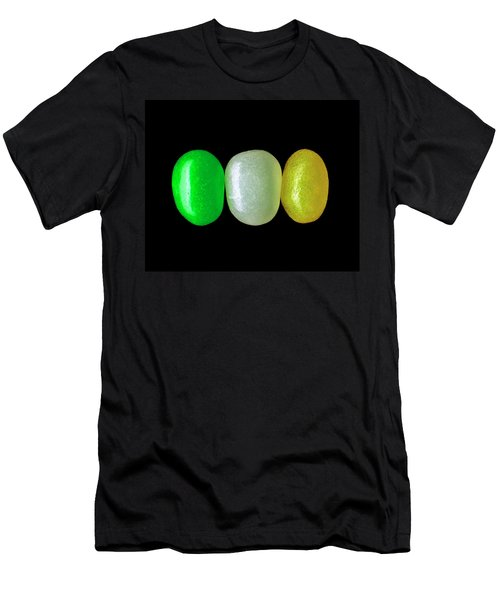 Three Jelly Beans Men's T-Shirt (Athletic Fit)