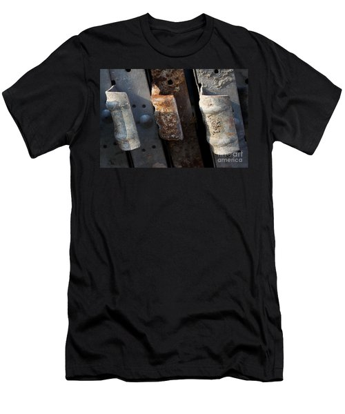 Three Shades Of Rust Men's T-Shirt (Athletic Fit)