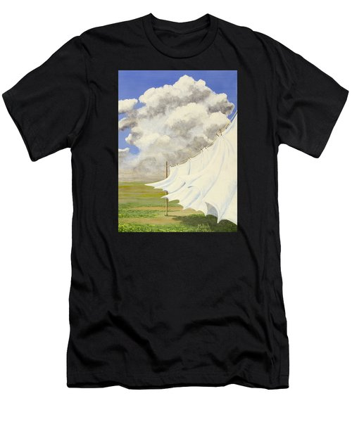 Three Sheets To The Wind Men's T-Shirt (Athletic Fit)