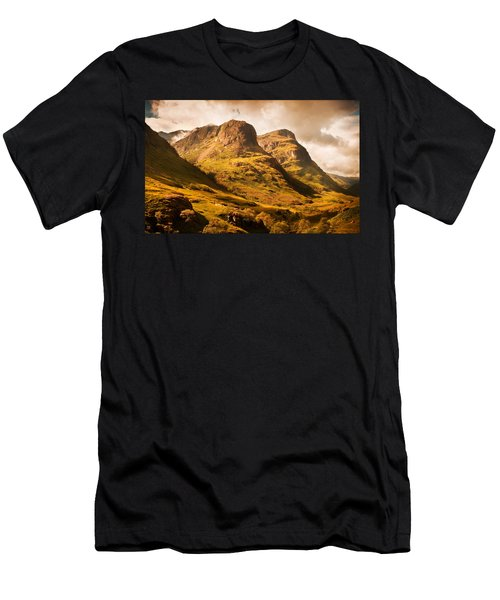 Three Sisters. Glencoe. Scotland Men's T-Shirt (Athletic Fit)