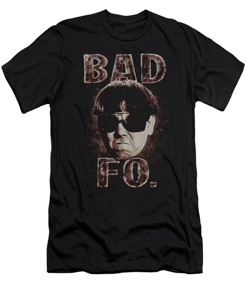 Three Stooges - Bad Moe Fo Men's T-Shirt (Athletic Fit)