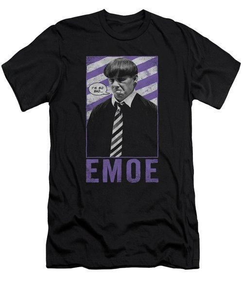 Three Stooges - Emoe Men's T-Shirt (Athletic Fit)
