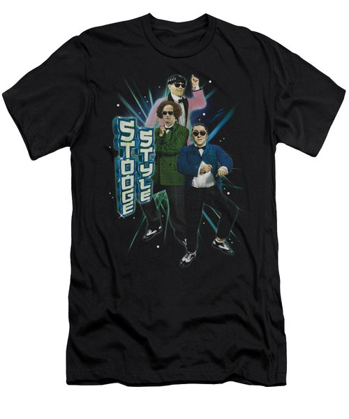 Three Stooges - Stooge Style Men's T-Shirt (Athletic Fit)
