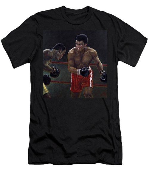 Thrilla In Manilla Men's T-Shirt (Athletic Fit)