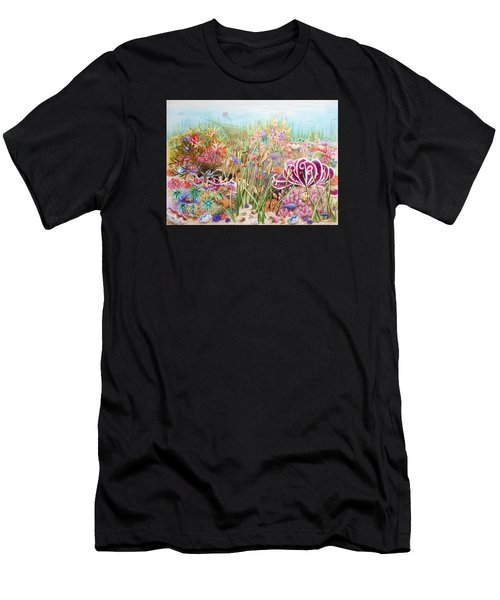 Thriving Ocean  Men's T-Shirt (Athletic Fit)