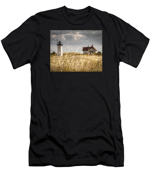 Race Point Light Through The Grass Men's T-Shirt (Athletic Fit)
