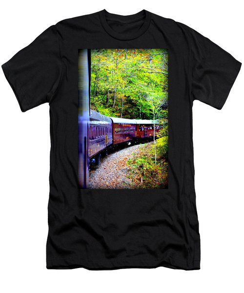Through The Mountains Men's T-Shirt (Athletic Fit)