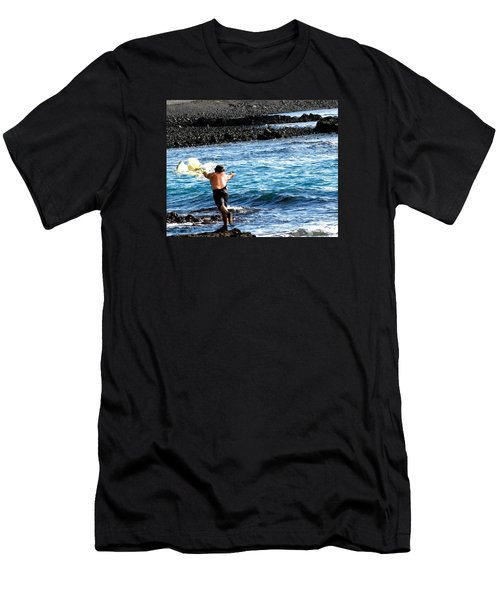 Throw.... Men's T-Shirt (Athletic Fit)