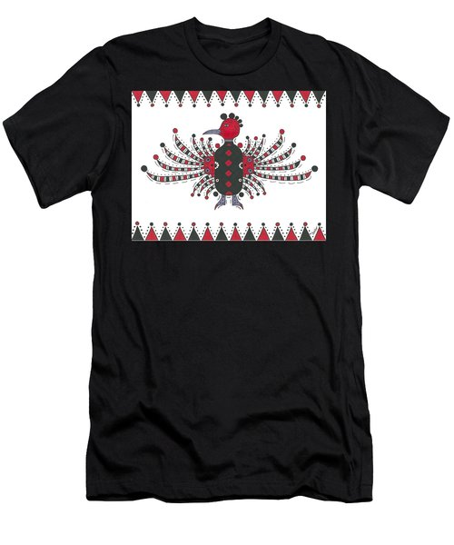 Thunderbird Flutter Men's T-Shirt (Slim Fit) by Susie Weber
