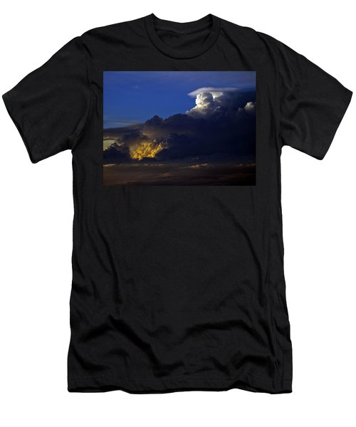 Men's T-Shirt (Slim Fit) featuring the photograph Thunderstorm II by Greg Reed