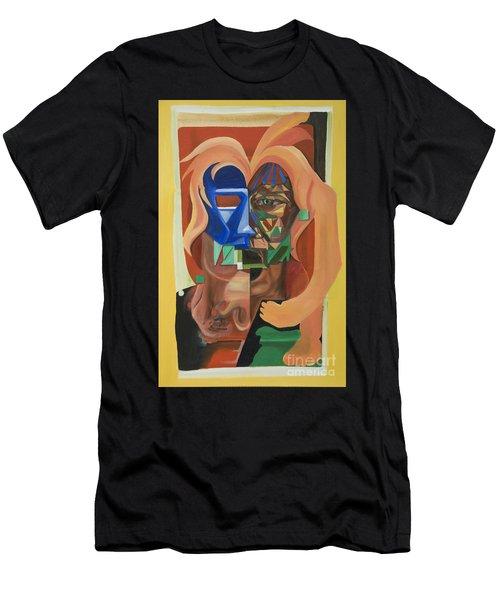 Tia 080111 Men's T-Shirt (Athletic Fit)
