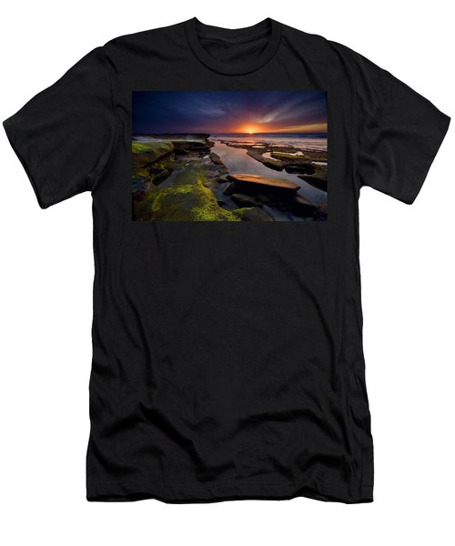 Tidepool Sunsets Men's T-Shirt (Athletic Fit)
