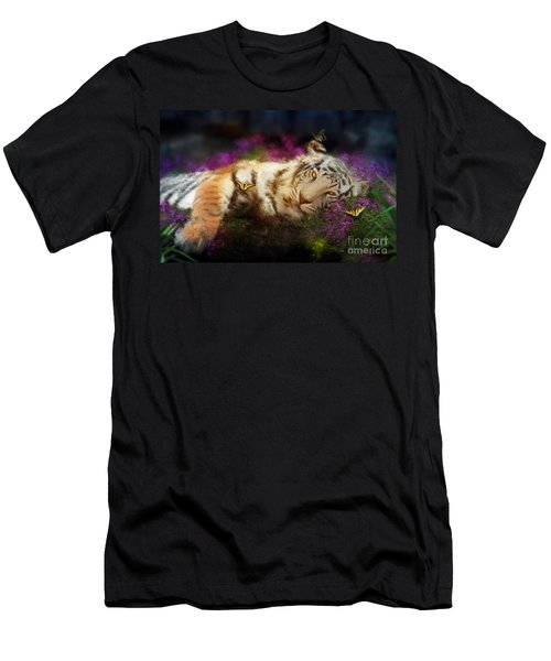Tiger Dreams Men's T-Shirt (Athletic Fit)