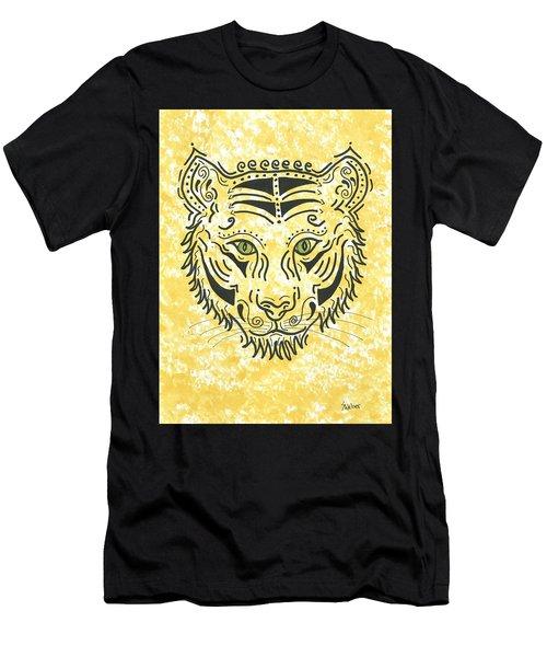 Tiger Eye Men's T-Shirt (Slim Fit) by Susie WEBER