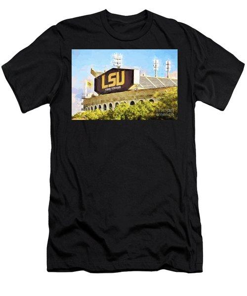 Tiger Stadium - Bw Men's T-Shirt (Athletic Fit)