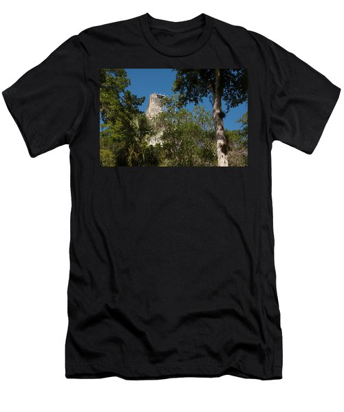 Tikal Pyramid 4a Men's T-Shirt (Athletic Fit)