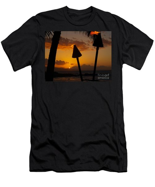 Tiki Time In Maui Men's T-Shirt (Athletic Fit)