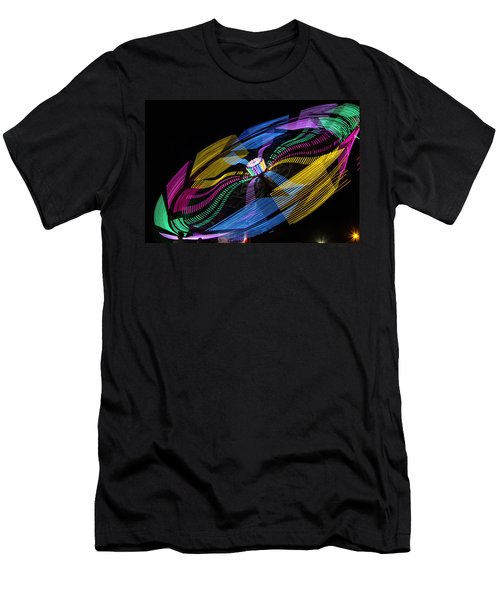 Men's T-Shirt (Slim Fit) featuring the photograph Tilt A Whirl by Steven Bateson