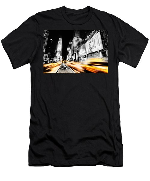 Time Lapse Square Men's T-Shirt (Athletic Fit)