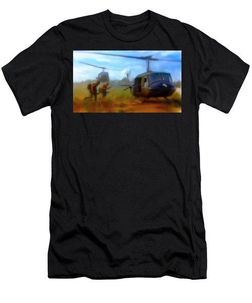 Time Sacrificed II Vietnam Veterans  Men's T-Shirt (Athletic Fit)