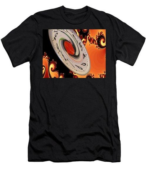 Time Saucer Men's T-Shirt (Athletic Fit)