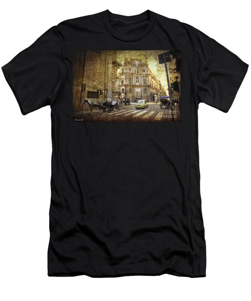 Time Traveling In Palermo - Sicily Men's T-Shirt (Athletic Fit)
