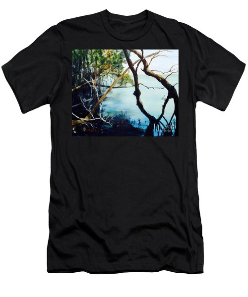 Timeless Forest Men's T-Shirt (Slim Fit) by Mary Lynne Powers