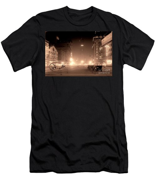 Timesquare 1911 Reloaded Men's T-Shirt (Athletic Fit)