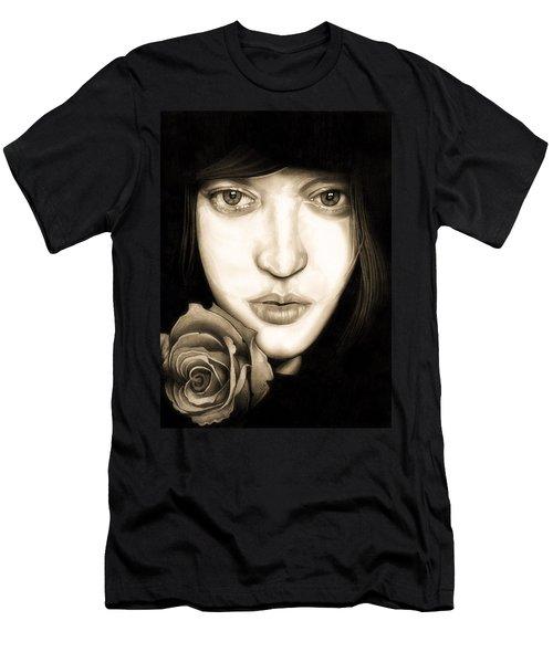 Tina Ayres Men's T-Shirt (Slim Fit) by Fred Larucci