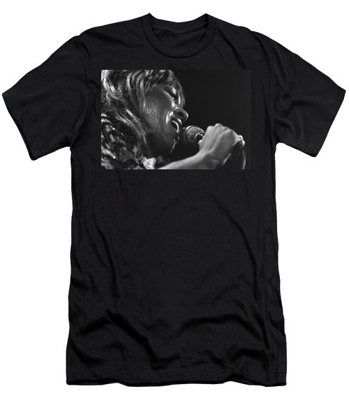 Tina Turner 1 Men's T-Shirt (Athletic Fit)