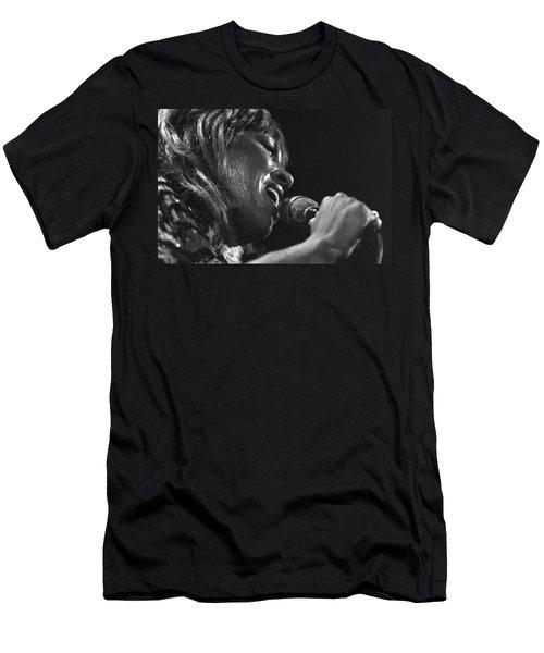 Tina Turner 1 Men's T-Shirt (Athletic Fit)