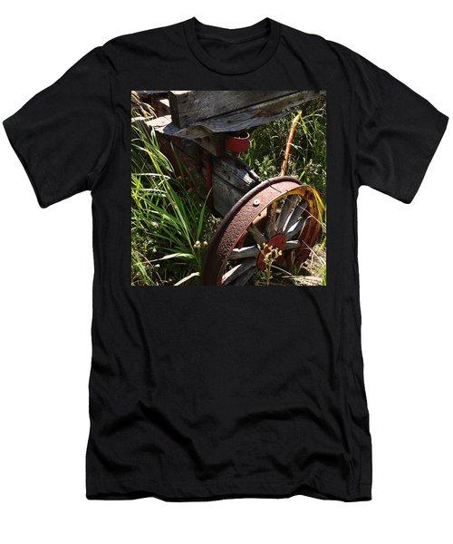 Men's T-Shirt (Slim Fit) featuring the photograph Tireless by Meghan at FireBonnet Art