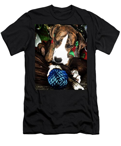 Men's T-Shirt (Slim Fit) featuring the photograph 'tis Better To Receive by Robert McCubbin